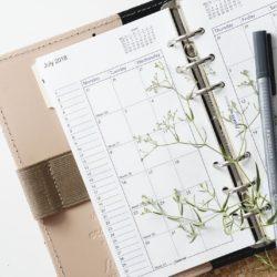 Jahres-, Monats-, Wochen- und Tagesplanung – Tut das Not?